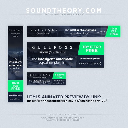 HTML5-animated & static banners