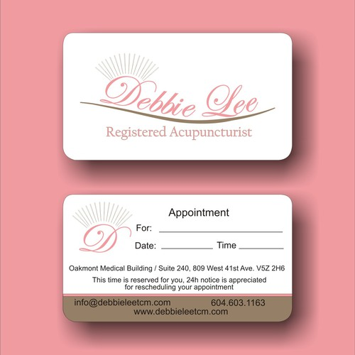Create a logo brand and business card design for Healthcare practitioner