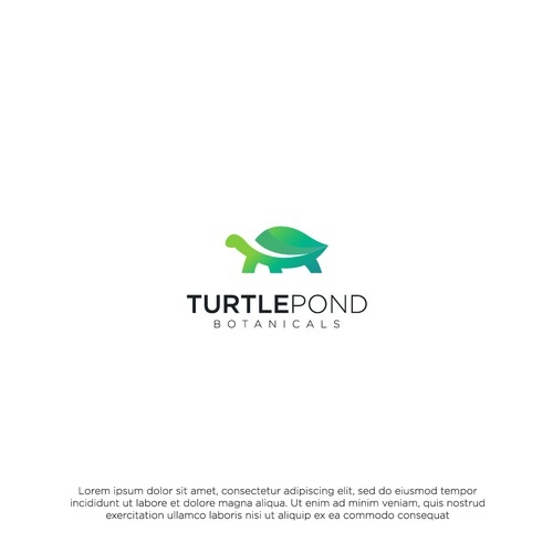 TURTLE POND BOTANICALS Logo