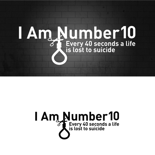 Logo for a film promoting suicide prevention