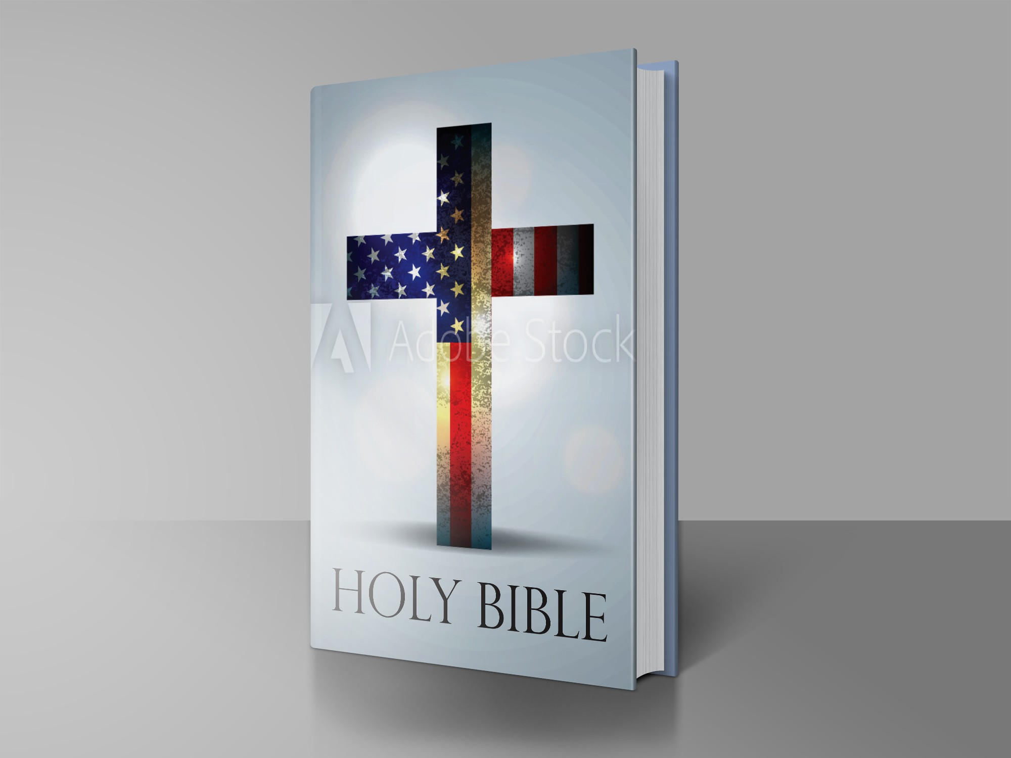 American Flag Bible Cover