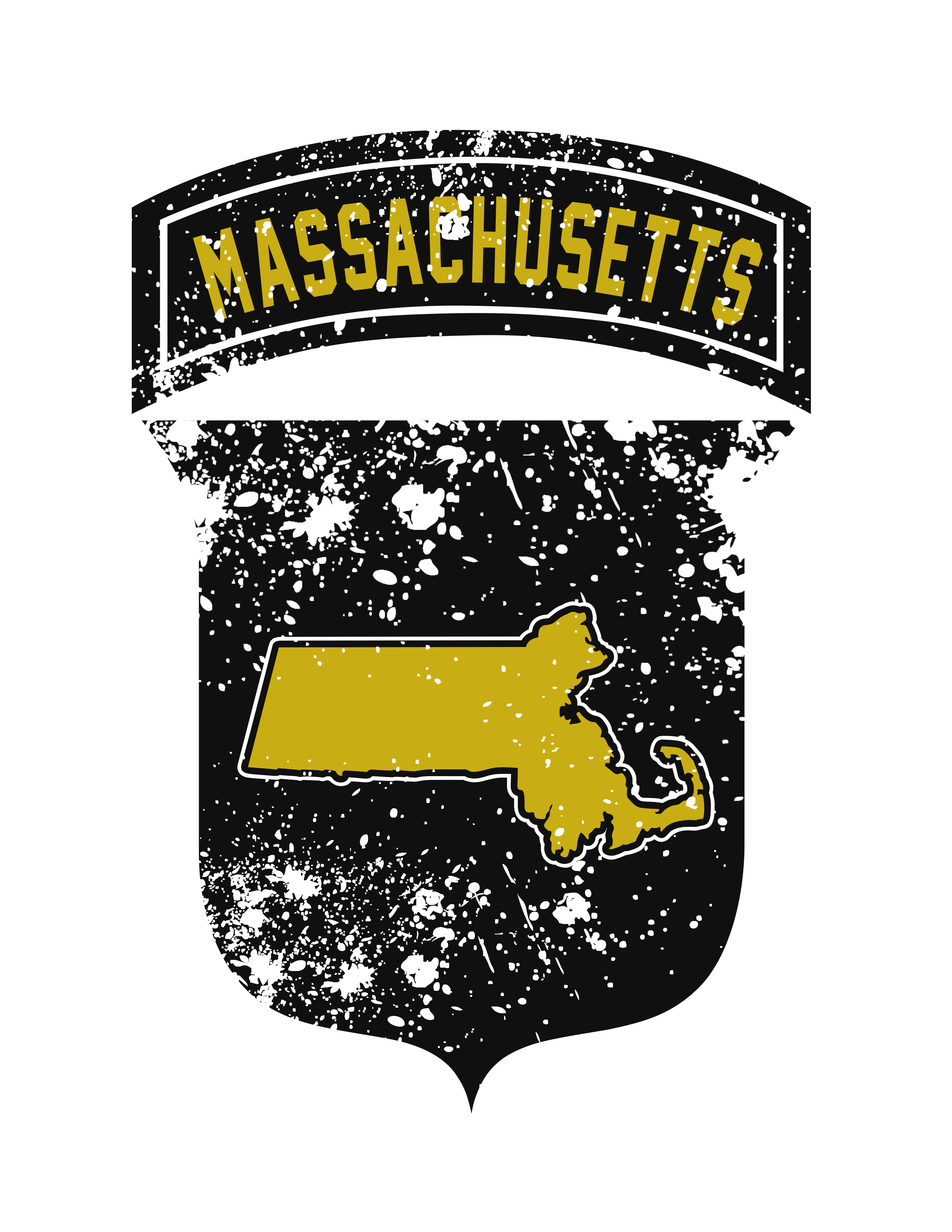 Airborne Crest for New England States
