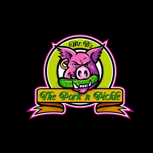 Mr. D's The Pork N Pickle