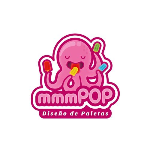 POPSICLES!! Create a LOGO for custom popsicles.