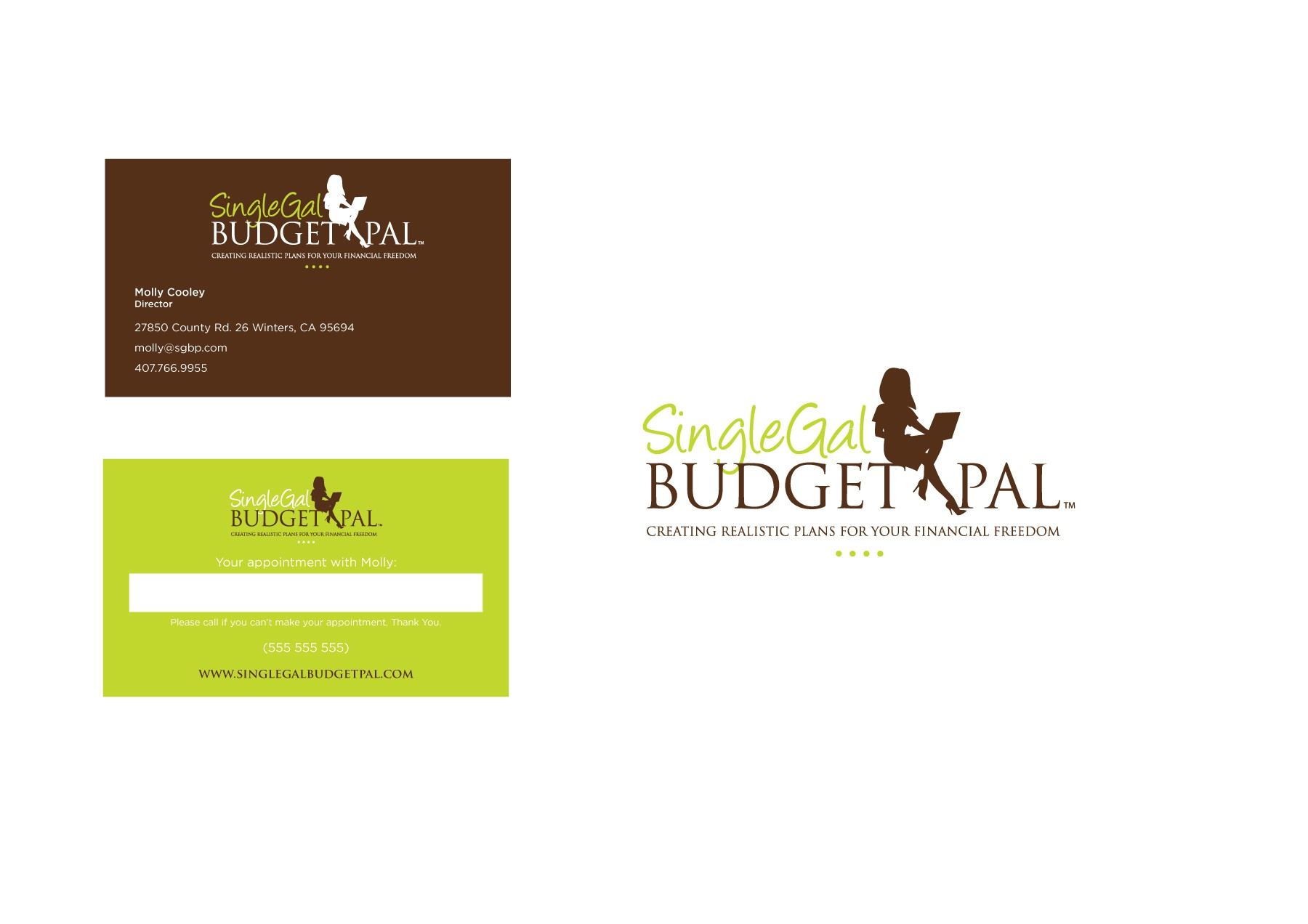 New logo wanted for Single Gal Budget Pal
