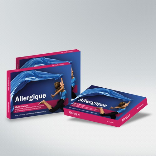 Allergique needs a packaging design