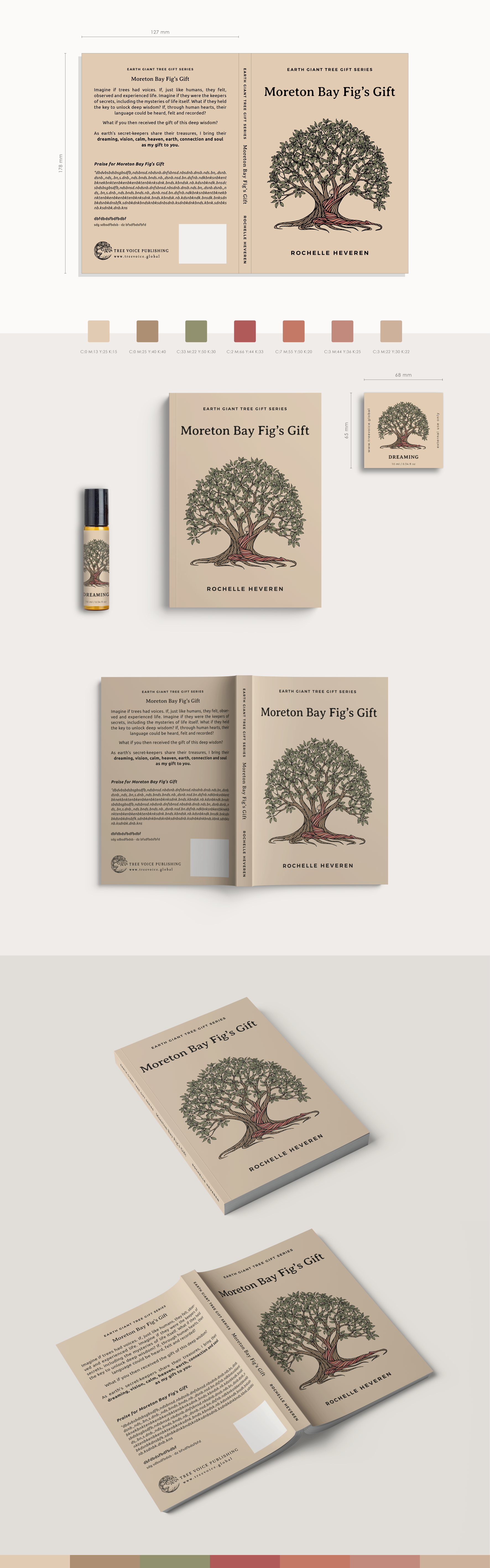 Moreton Bay Fig's Gift - Illustration and Products
