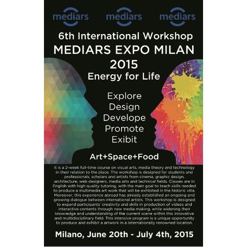 flyer for innovative art+technology workshop