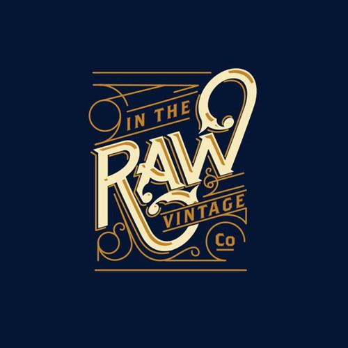 Raw Vintage Logo