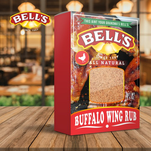 Bell's packaging