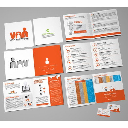 Creative BROCHURE & BIZ CARD needed! New full PDF design brief and increased PRIZE for winning design!