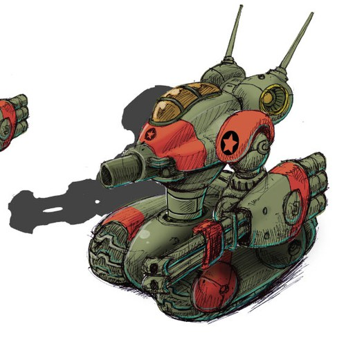 Red Army Robot