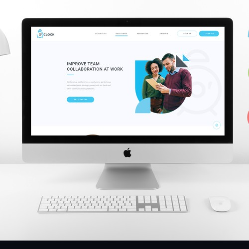 Gaming Company Web Design