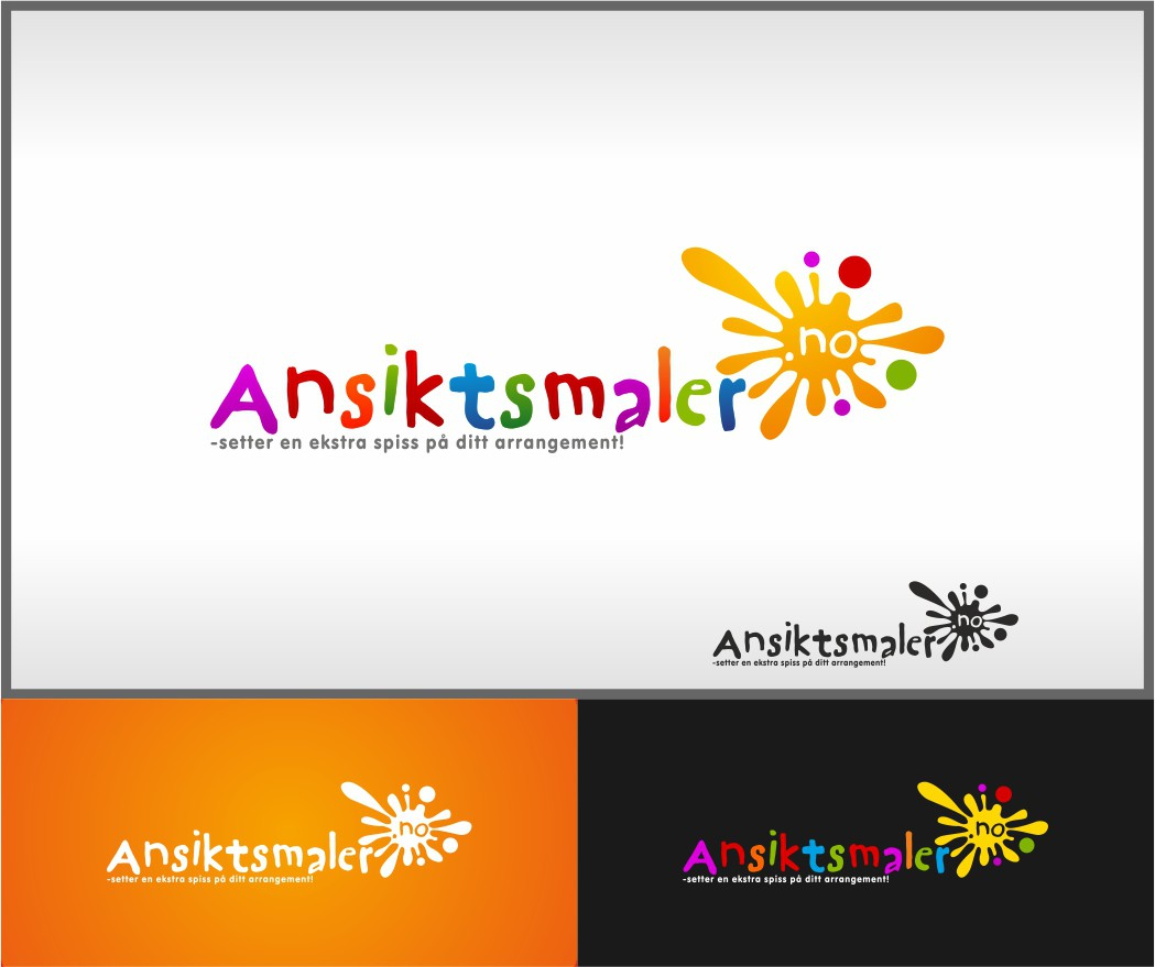 New logo wanted for Ansiktsmaler.no