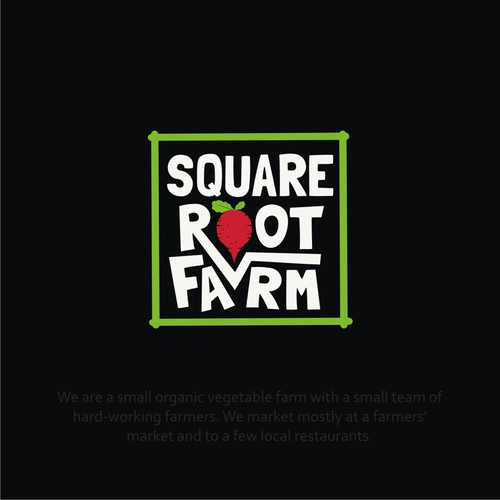 LOGO for Vegetable Farm