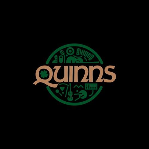 Logo design for Irish bar