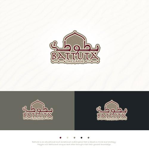"logo for ""Battuta The Game"""
