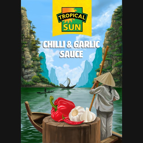 TROPICAL SUN Chilly & Graphic Sauce