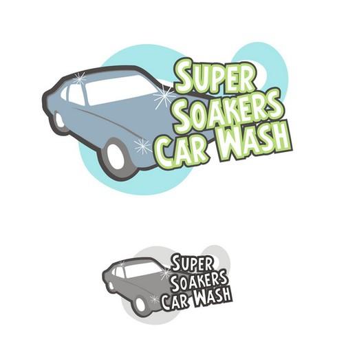 Super Soakers Car Wash needs a new logo