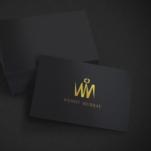 elegant logo for leather fashion label