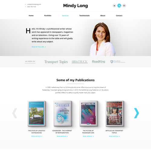 Technical Writer homepage