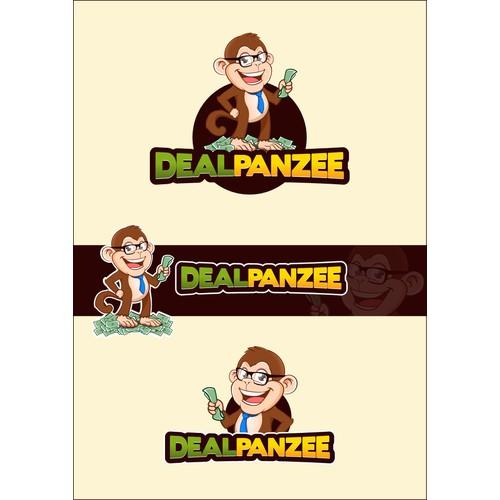 Cartoon mascot for Dealpanzee