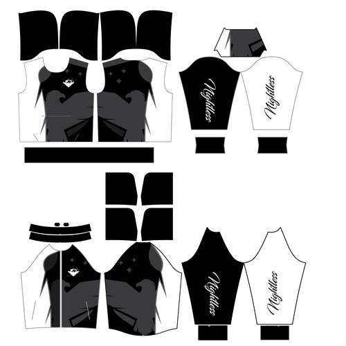 make sublimation jersey ready print file