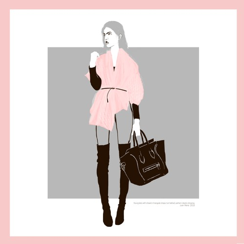 Ways to Wear - Fashion illustration