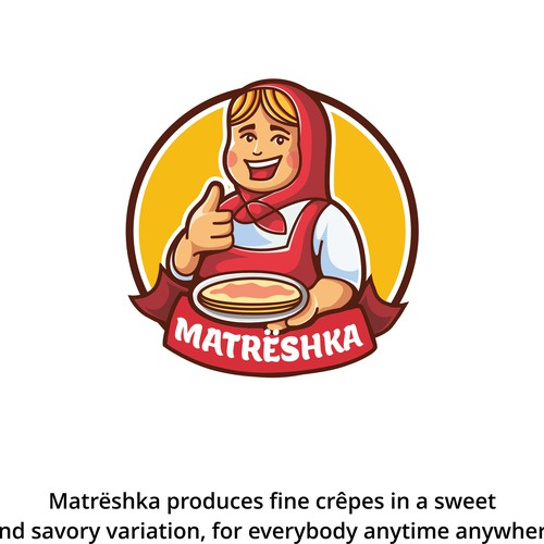 Matrëshka logo concept