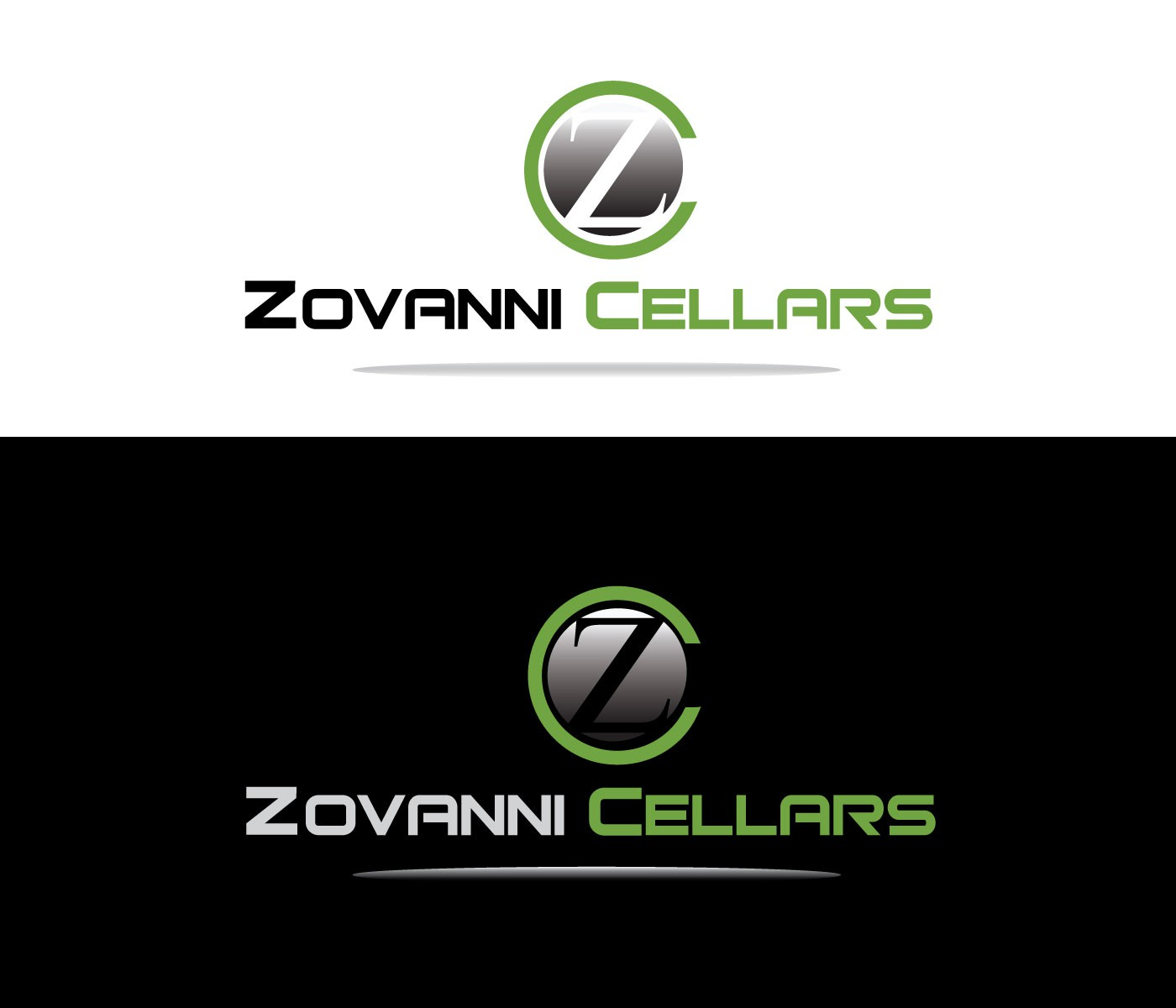 Create the next logo for Zovanni Cellars