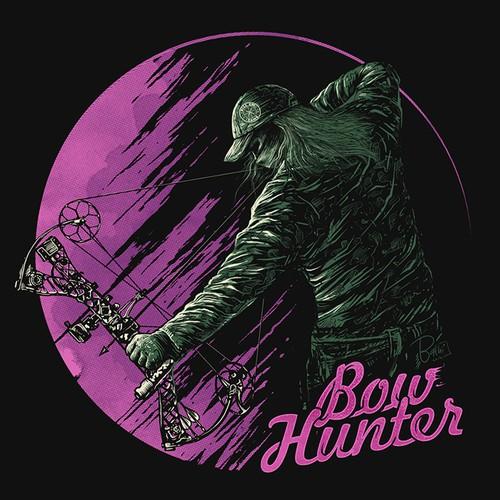 Bow HunterT-shirt Design