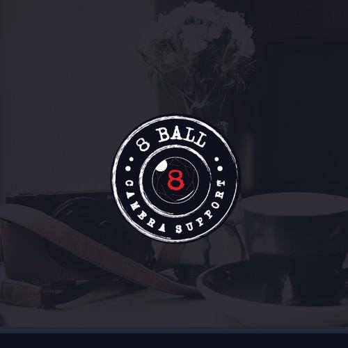 8 Ball Camera Support logo