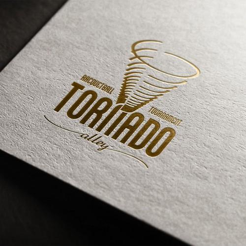 Tornado Alley Racquetball Tournment branding project