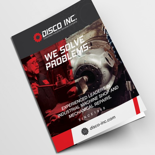 Disco INC brochure Design