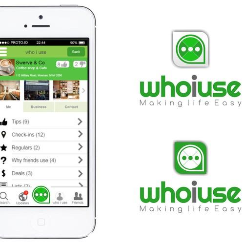 Create The next Generation Location based Social Network App logo