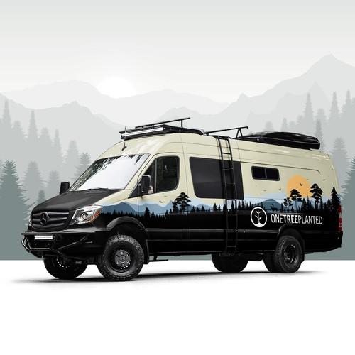 Wrap for OneTreeLanted Van