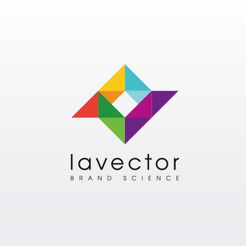 lavector logo design
