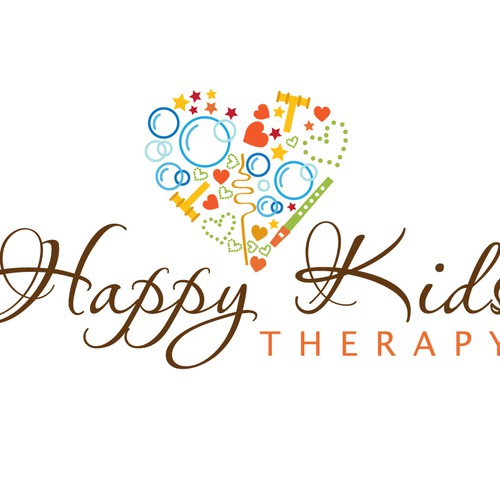 Happy Kids Therapy needs a vibrant logo!!