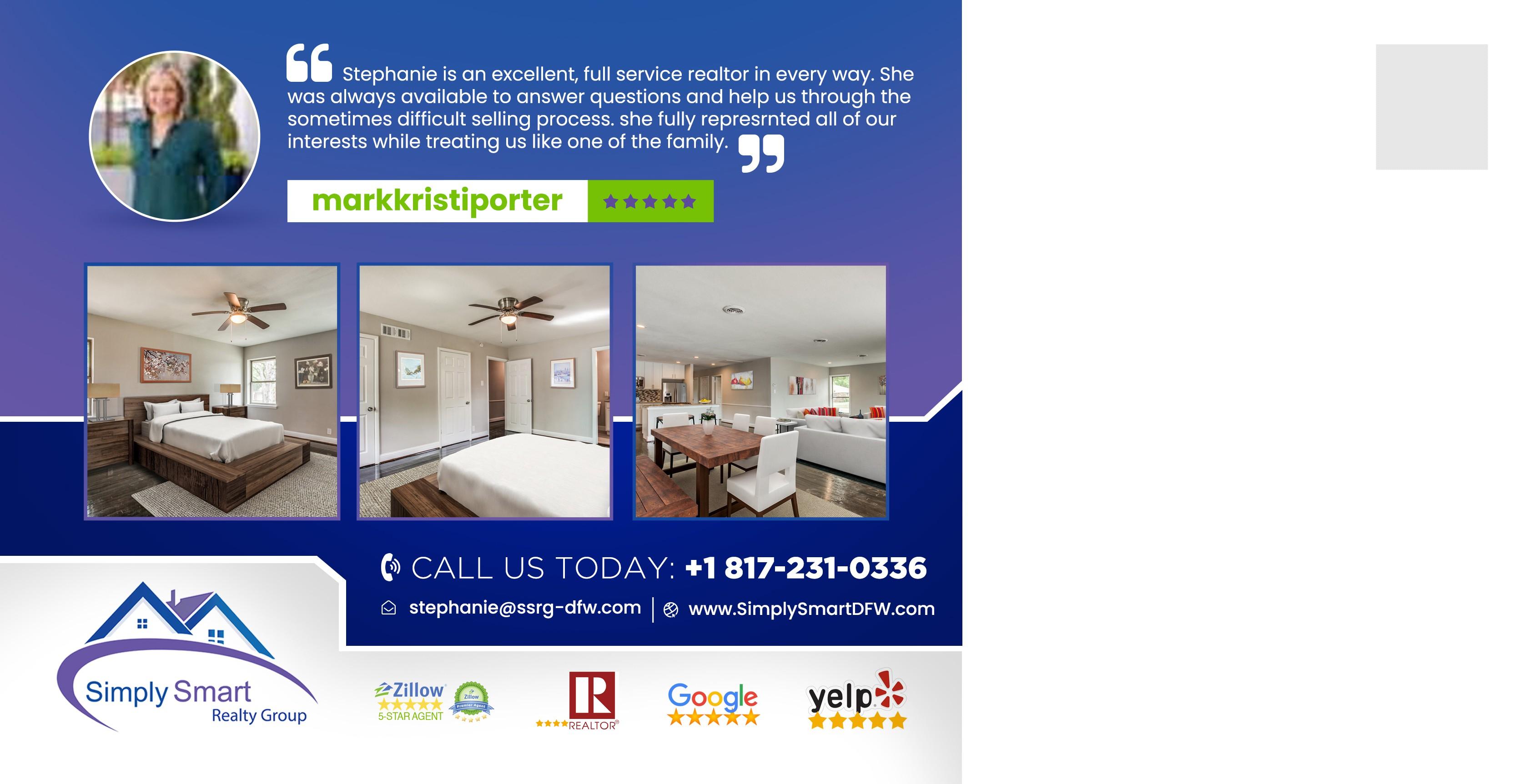 Marketing Postcard for Real Estate Company