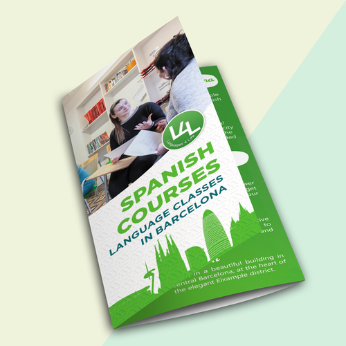 Tri-fold Flyer for Language Center