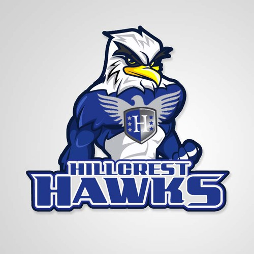 "Mascot Design for Hillcrest ""Hawks"" Academy"