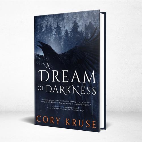 A Dream of Darkness - Dark horror story needs a modern, evocative cover