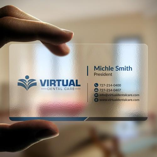 Business card contest winner