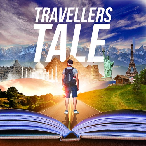 Travellers tale Podcast design