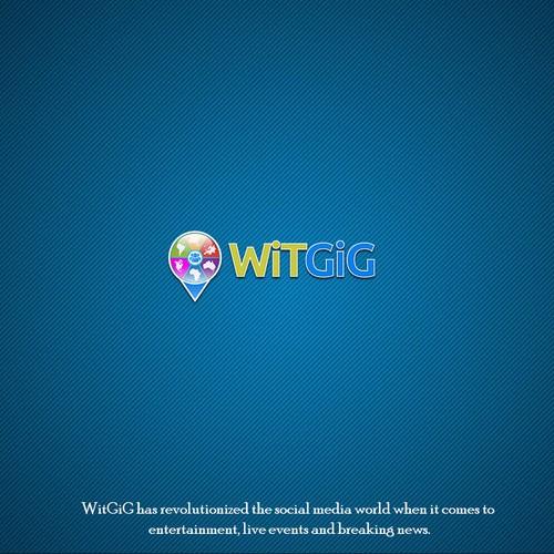 WiTGiG App Logo Design