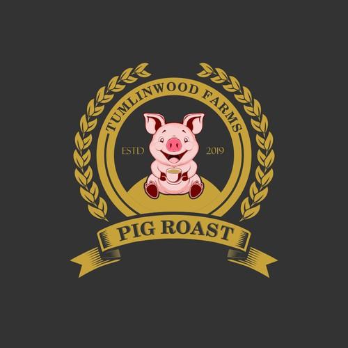 farm pig roast