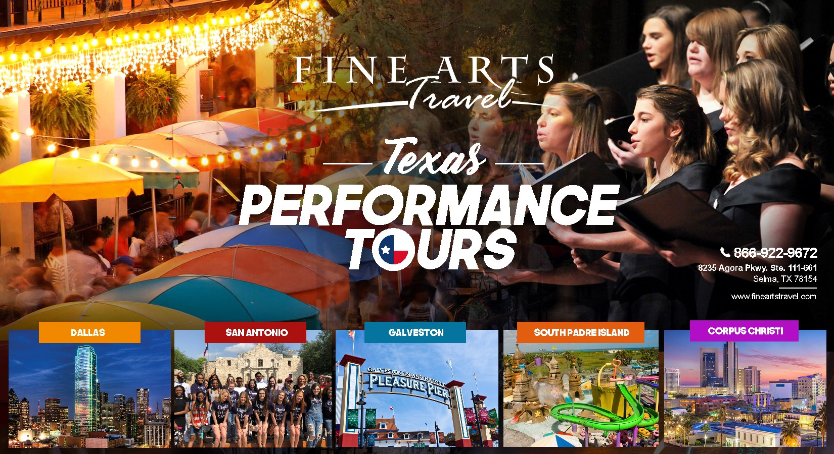 Fine Arts Travel is looking for a Direct Mail Postcard Graphic