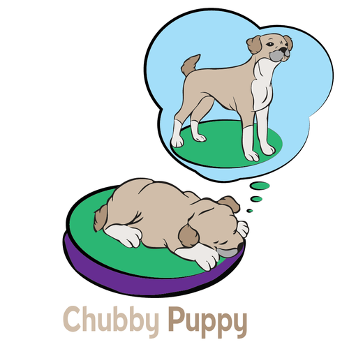 Design winner for Chubby Puppy