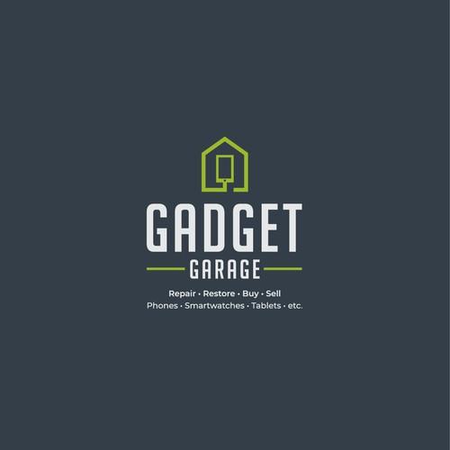 Logo concept for Gadget Garage