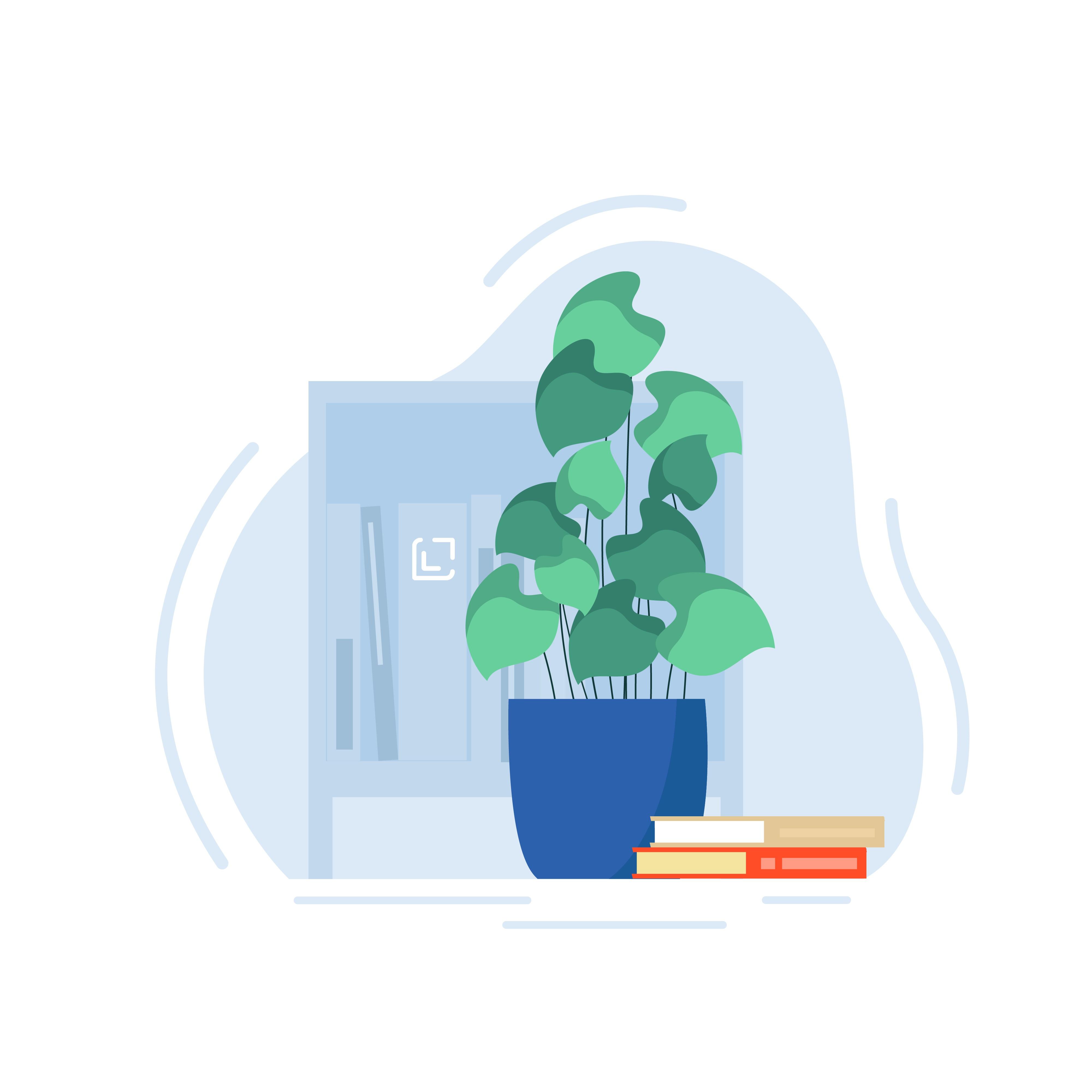 Design landing page illustration for mentoring non-profit for students